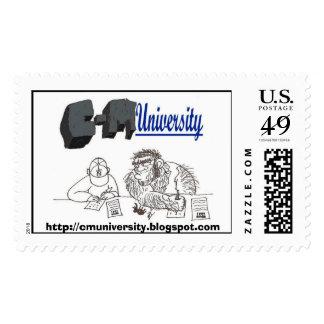 C-M University Stamp