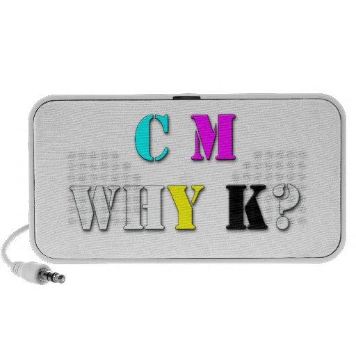 C.M.WHY.K? NOTEBOOK SPEAKERS