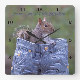 C'mon… It's Casual Friday! - Clock