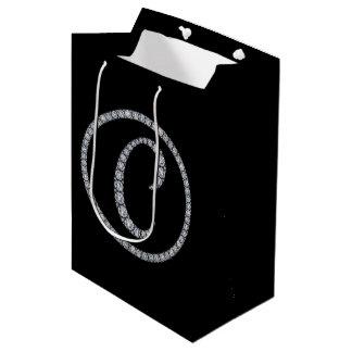 C Monogram bling gift bag