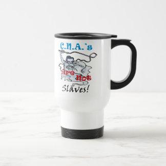C.N.A. no son esclavos Tazas De Café