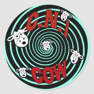 C.N.i Cow 2011 Logo Sticker
