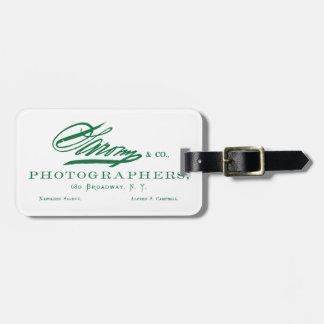C Napoleon 1870 Sarony fotógrafo americano Etiquetas De Maletas