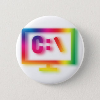 C:\ Nerds and Geeks Rejoice ! Pinback Button