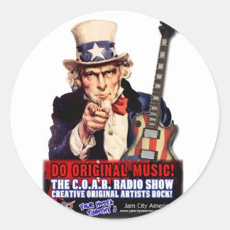 C.O.A.R. Radio  (C.O.A.R. stands for Creative Orig Sticker