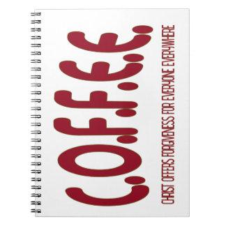 C.O.F.F.E.E. NOTE BOOK