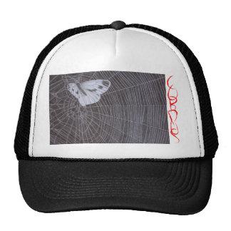 C.O. R. P. U.S moth in web Hats