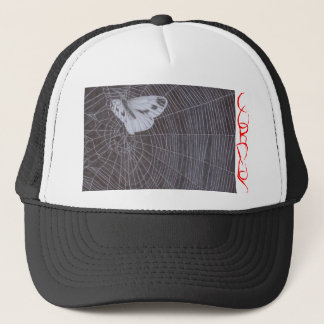 C.O. R. P. U.S moth in web Trucker Hat