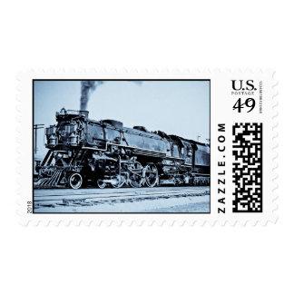 C&O Railroad Engine 470 Stamps