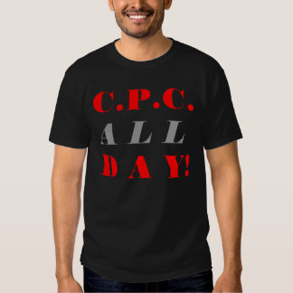 C.P.C. All Day Tee By Certified Paper Chasers