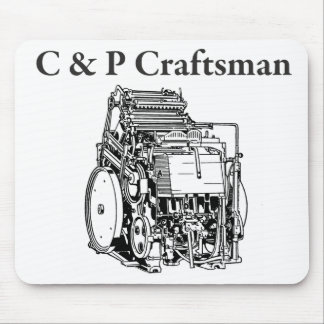 C & P Craftsman Mouse Mat Mouse Pad