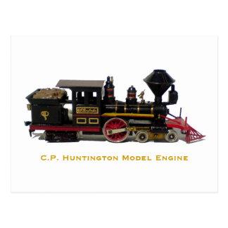 C.P. Postal modelo del motor de Huntington