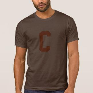 C para Cleveland Camisetas