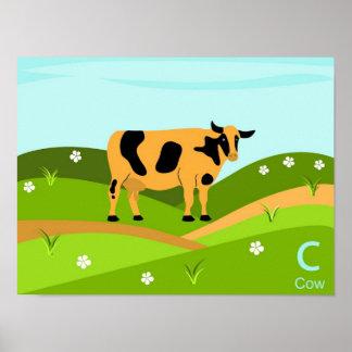 C para el poster de la vaca