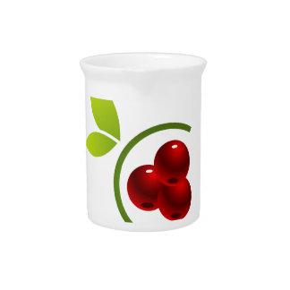 C para la cereza jarras de beber