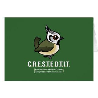 C.R.E.S.T.E.D.T.I.T. CARD