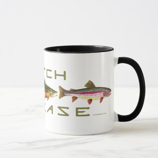 C & R - Trout Mug