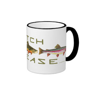 C R - Trout Coffee Mugs