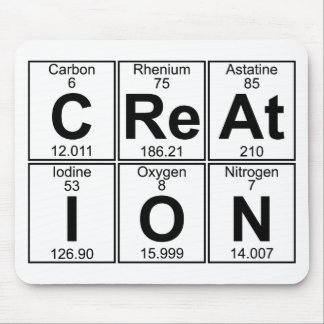 C-Re-At-I-O-N (creation) - Full Mouse Pad
