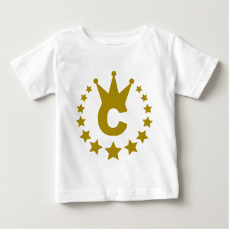 C-real-stars-crown.png Baby T-Shirt