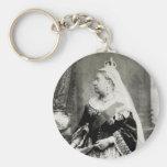 C. reina 1880 Victoria de Inglaterra Llavero Personalizado