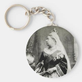 C. reina 1880 Victoria de Inglaterra Llavero Redondo Tipo Pin