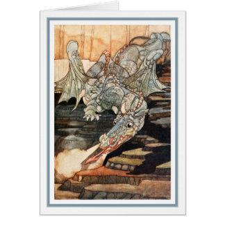 C. Robinson - Dragon Greeting Card