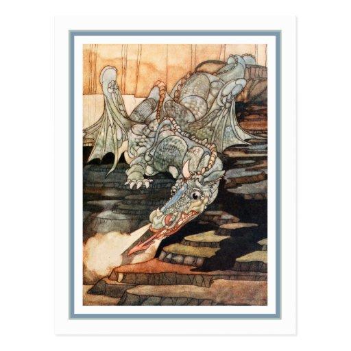 C. Robinson - Dragon Postcards