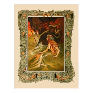C. Robinson - la sirena Tarjeta Postal