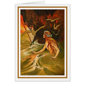 C. Robinson - The Mermaid Greeting Card