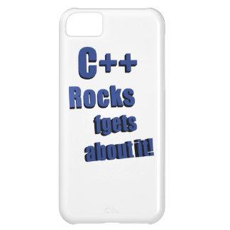 C++ Rocas FGet sobre ella Funda Para iPhone 5C