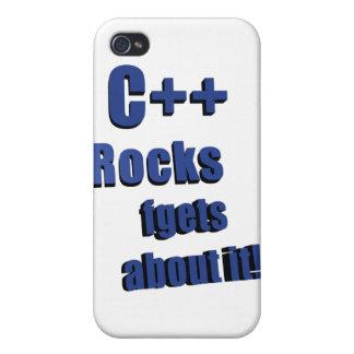 C++ Rocas FGet sobre ella iPhone 4/4S Carcasa