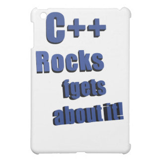 C++ Rocks FGet About It Case For The iPad Mini