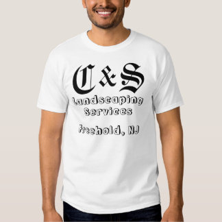 C & S Landscaping Services Shirts