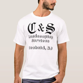 C & S Landscaping Services T-Shirt