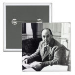 C.S. Lewis 2 Inch Square Button