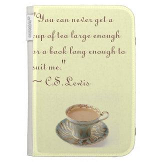 C.S. Lewis Kindle Case Quote
