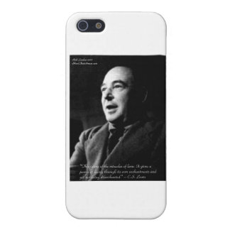 C.S. Lewis Love/Enchantments Love Quote Gifts Case For iPhone SE/5/5s