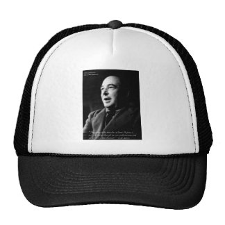 C S Lewis Love Enchantments Love Quote Gifts Hat