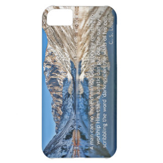 C.S. Lewis quote and Convict Lake Case For iPhone 5C
