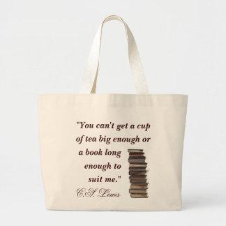 C.S. Lewis Quote Bag