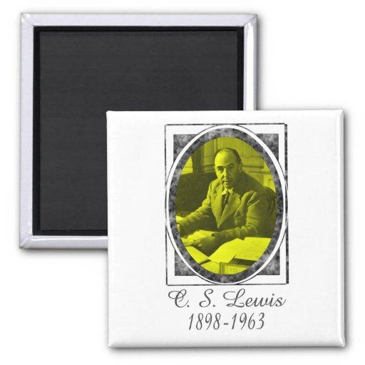 C.S. Lewis Refrigerator Magnet