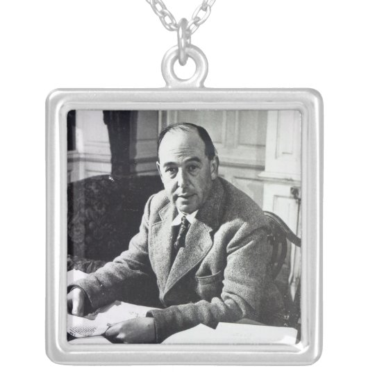C.S. Lewis Silver Plated Necklace