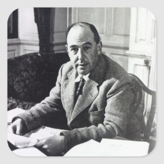 C.S. Lewis Square Sticker