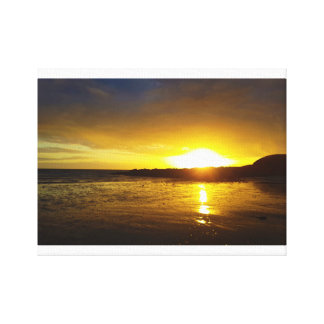 "C.S Wilks ""Hot Summer Sunset"" Canvas Print"