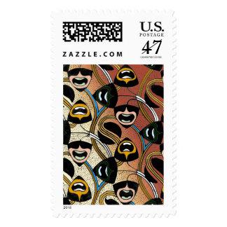 c sello postal