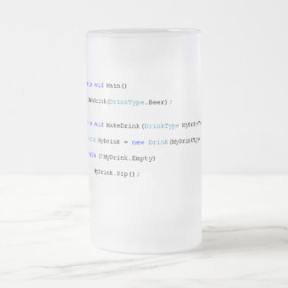 C Sharp Programmers Beer Mug