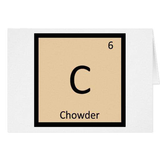C - Símbolo de la tabla periódica de la química de Felicitación