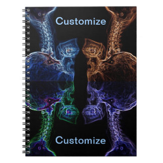 C-spine X-ray Mix notepad Spiral Note Books