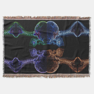 C-spine X-ray Mix throw blanket